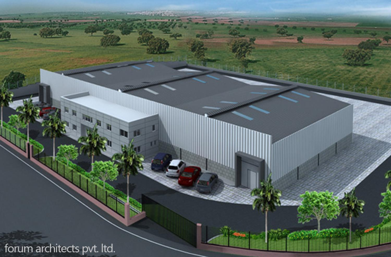 Adheshive Manufacturing facility with an built up area of around 4000 ...